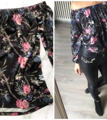 Amisu floral bluzica