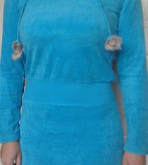 *Plisana haljina-tunika*