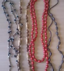 Ogrlice od prirodnih materijala - sve za 400 din
