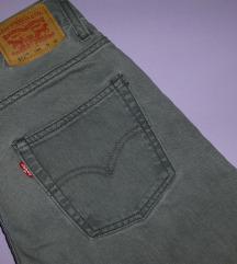 Levi's 511 Slim original sive farmerke - %% 900