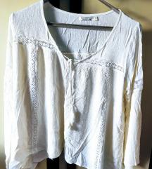 Bela boho bluza