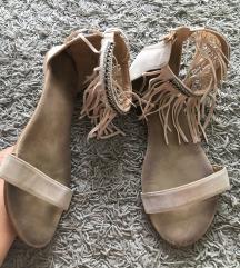 Sandale sa resama