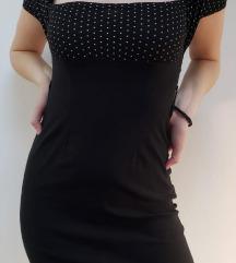 Crna haljina VINTAGE ETIKETA GRATIS PTT