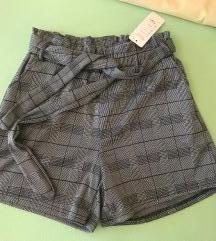 Sorts high waist paperbag S/M
