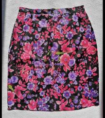 Prelepa sarena cvetna suknja