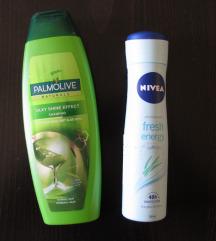 179. Palmolive sampon + Nivea dezodorans