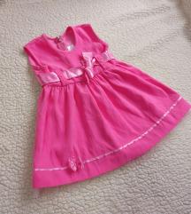Roze svecana haljinica