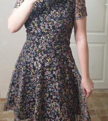 Cvetna haljina sa puf rukavima / sa ASOS-a