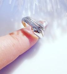 Srebrni prsten Novo 16,5mm.