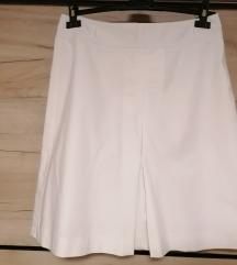 Esprit bela pamucna suknja A kroj