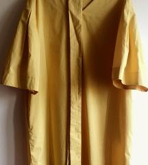 Dizajnerska žuta haljina