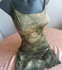 Maslinasto zelena letnja haljina