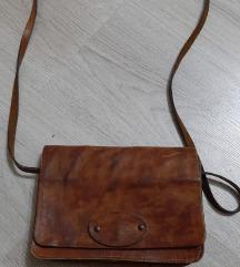 kožna vintage torbica