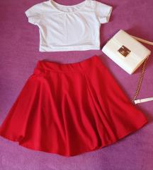 Crvena suknja A kroja