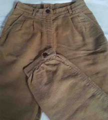 Vintage tople pamucne pantalone 36