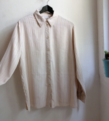 Vintage košulja sa diskretnim prugama