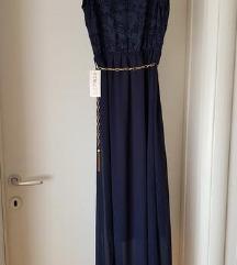 Svecana dugacka haljina sa etiketom