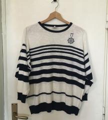 Vintage mornarski džemper