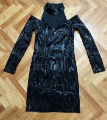 Sljokicava efektna haljina