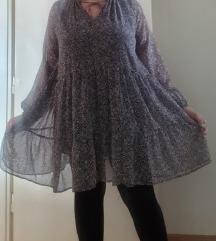 Nova LINDEX lepršava haljina Plus size