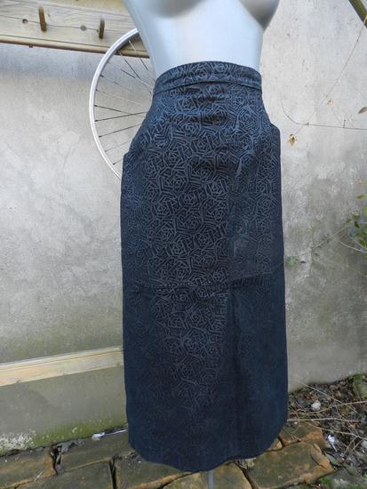 Vintage kožna suknja