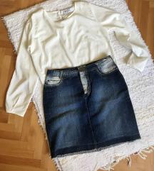 Kosulja i teksas suknja