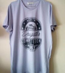 Majica sa printom - oversized- NOVO