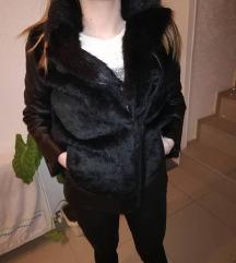 TOPSHOP kozna jakna