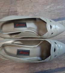 Kožne vintidž bata cipele
