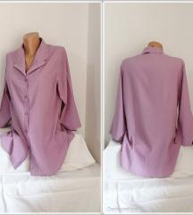 3.4. Elegantna lila XL košulja