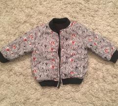 Zara jaknica sa dva lica - kao nova