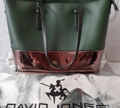 David jones torba tamno zelena