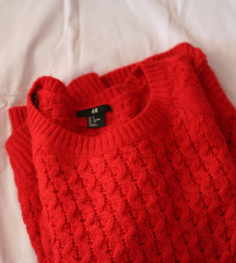 H& M crveni dzemper - Novo