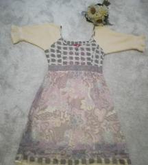 ♫ ♪ ♫ CREAM haljina NOVO