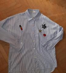 Košulja na pruge duža