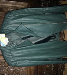 Zelena jakna od ekokoze