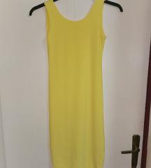 NOVO - žuta haljina