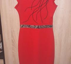 Crvena haljina SNIZENO