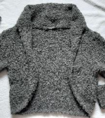 Teddy dzemper od vune i mohera, nikad nosen