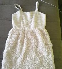 H&M 3D ruže haljina
