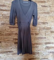 Zara siva haljina