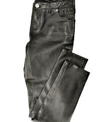 Morgan pantalone od prirodne kože