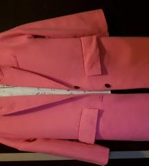 Zara pink kaput Novo xs