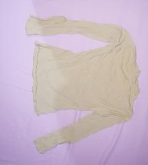 Bluza zvono rukavi sa razrezom