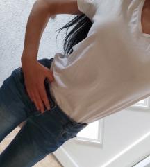 BASIC majica bela