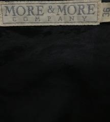 More&More teddy crni kaput