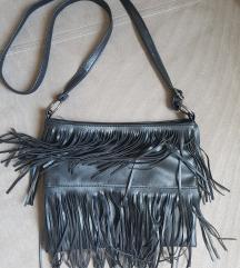 Crna torba sa resama