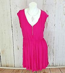 Stradivarius pink haljina
