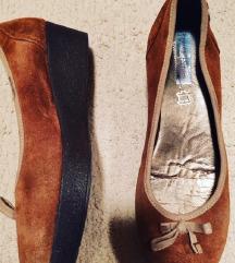 Italijanske cipele - prevrnuta koza