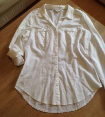 CA  bela pamučna košulja, L, poklon uz kupovinu!